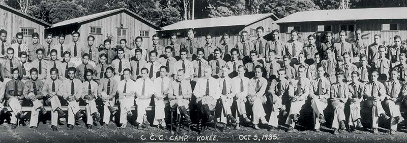 Civilian Conservation Corps Camp 1935